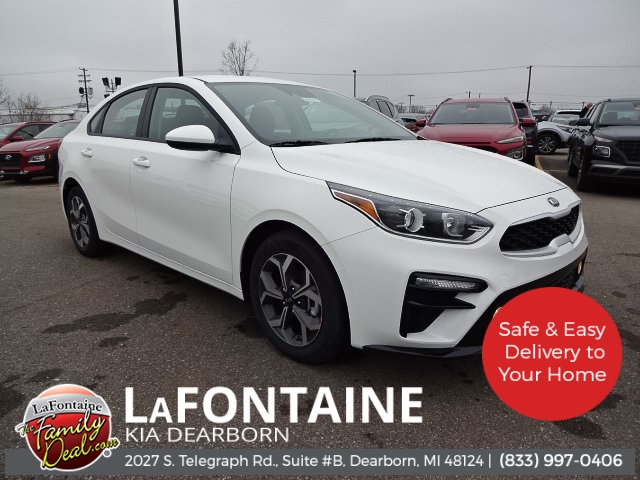 New 2020 Kia Forte LXS FWD 4D Sedan