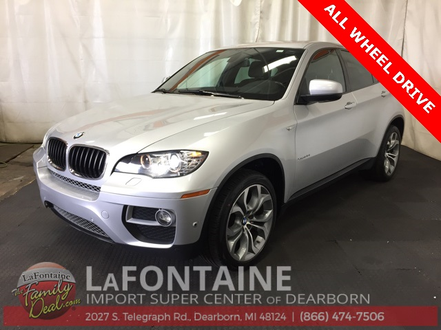 Pre-Owned 2013 BMW X6 xDrive35i