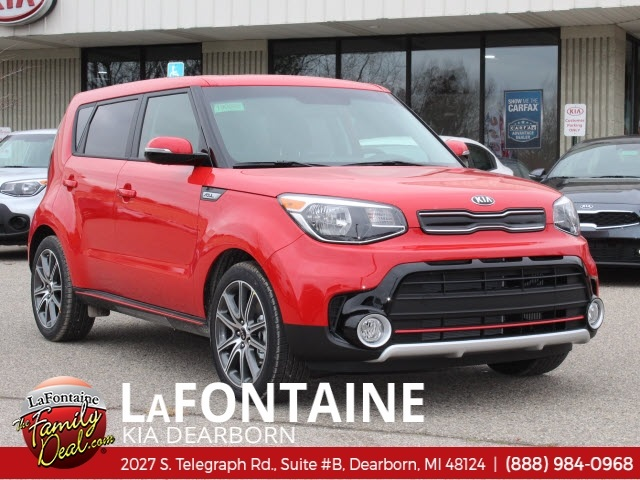 New 2019 Kia Soul Exclaim