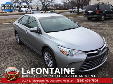 Certified Pre-Owned 2016 Toyota Camry Hybrid LE