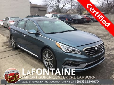 Certified Pre-Owned 2015 Hyundai Sonata Sport 2.0T
